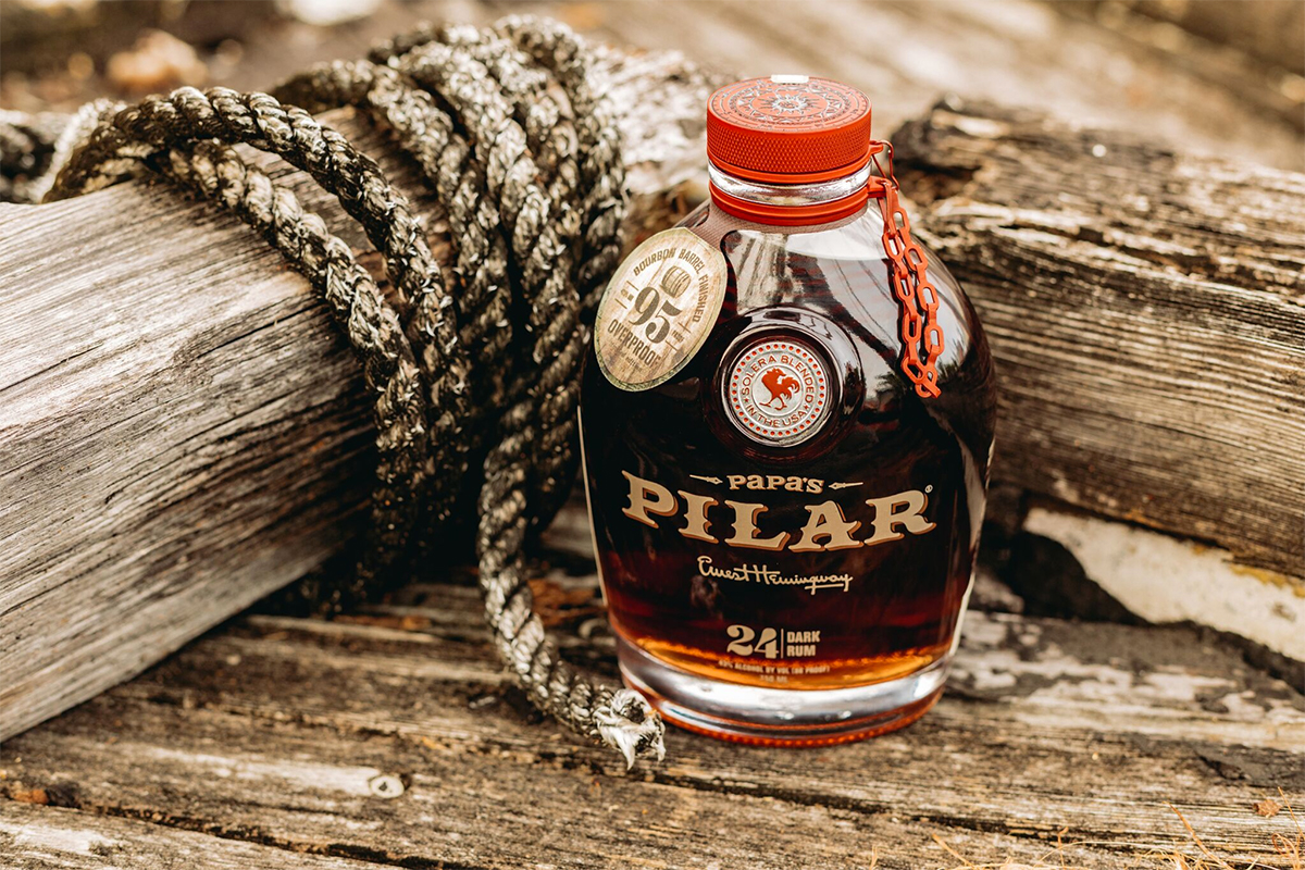 Papa's Pilar Bourbon Barrel Finished Dark Rum 95 Proof