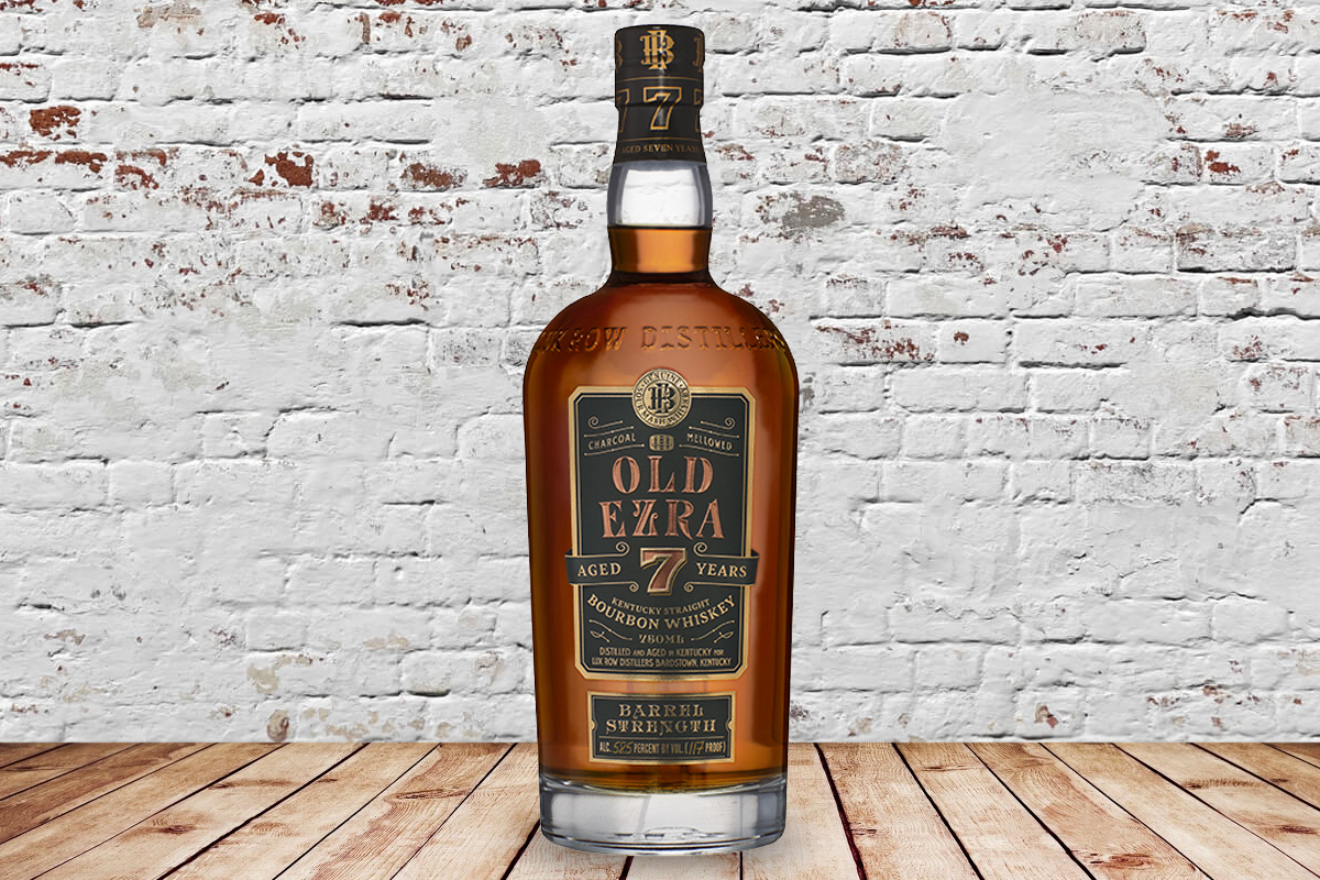 Old Ezra Barrel Strength Bourbon 7 Year