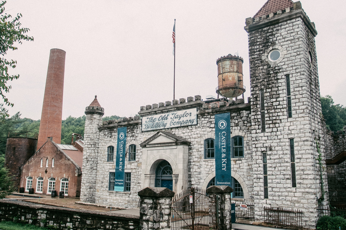 Castle & Key: The Castle & Key entrance