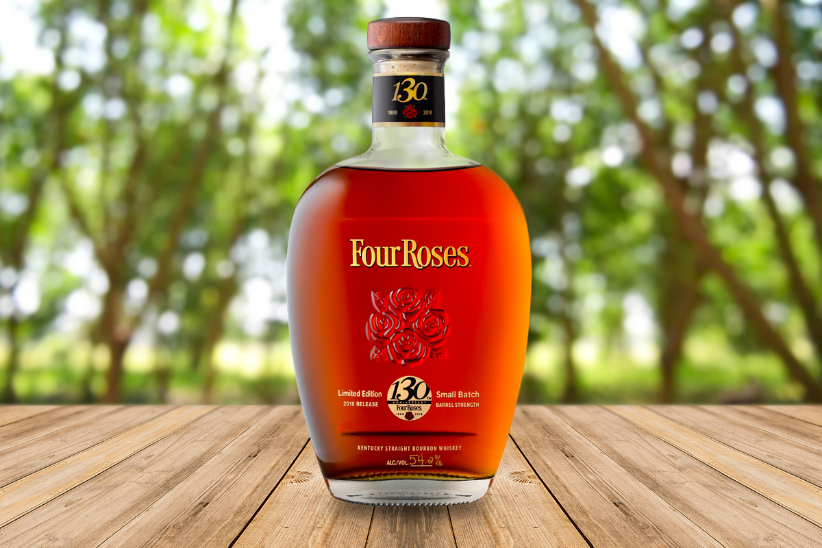 Four Roses 130th Anniversary Limited Edition Small Batch Bourbon