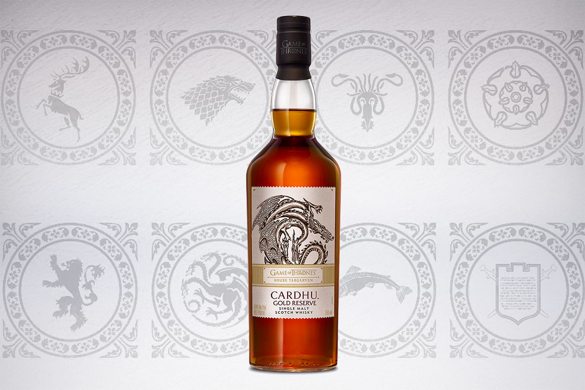 Game of Thrones Scotch whiskies: Cardhu Gold Reserve