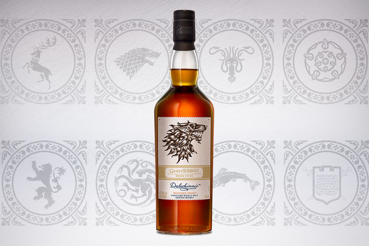 Game of Thrones Scotch whiskies: Dalwhinnie Winter's Frost