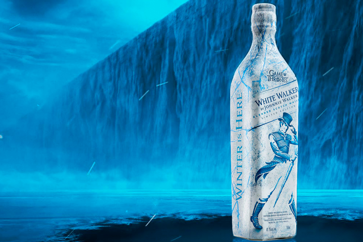 Game of Thrones Scotch whiskies: Johnnie Walker White Walker