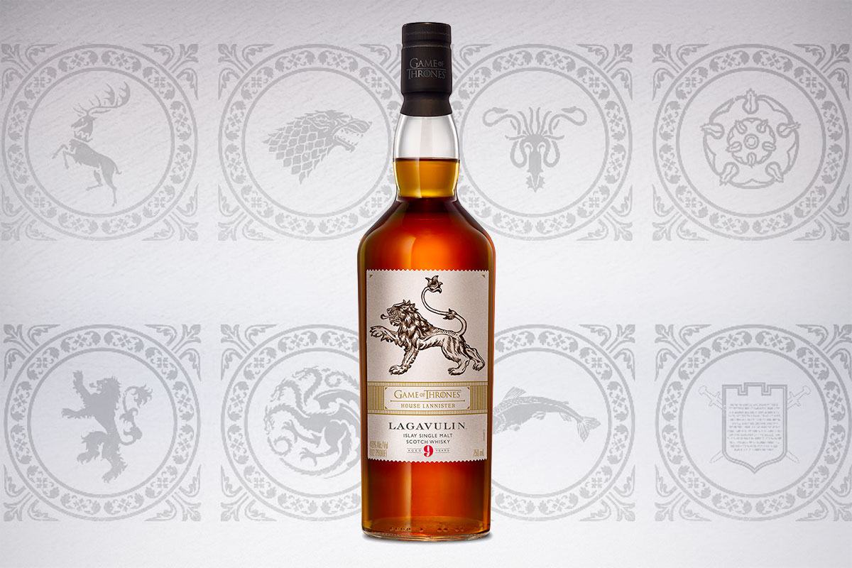 Game of Thrones Scotch whiskies: Lagavulin 9 Year