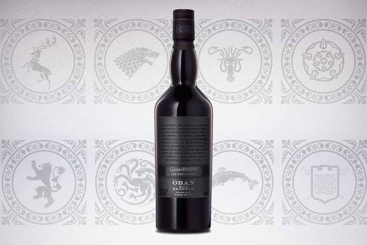 Game of Thrones Scotch whiskies: Oban Bay Reserve