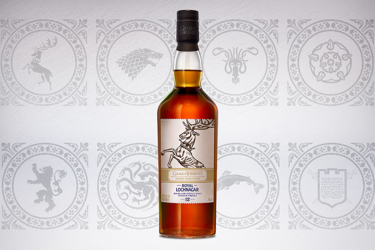 Game of Thrones Scotch whiskies: Royal Lochnagar 12 Year