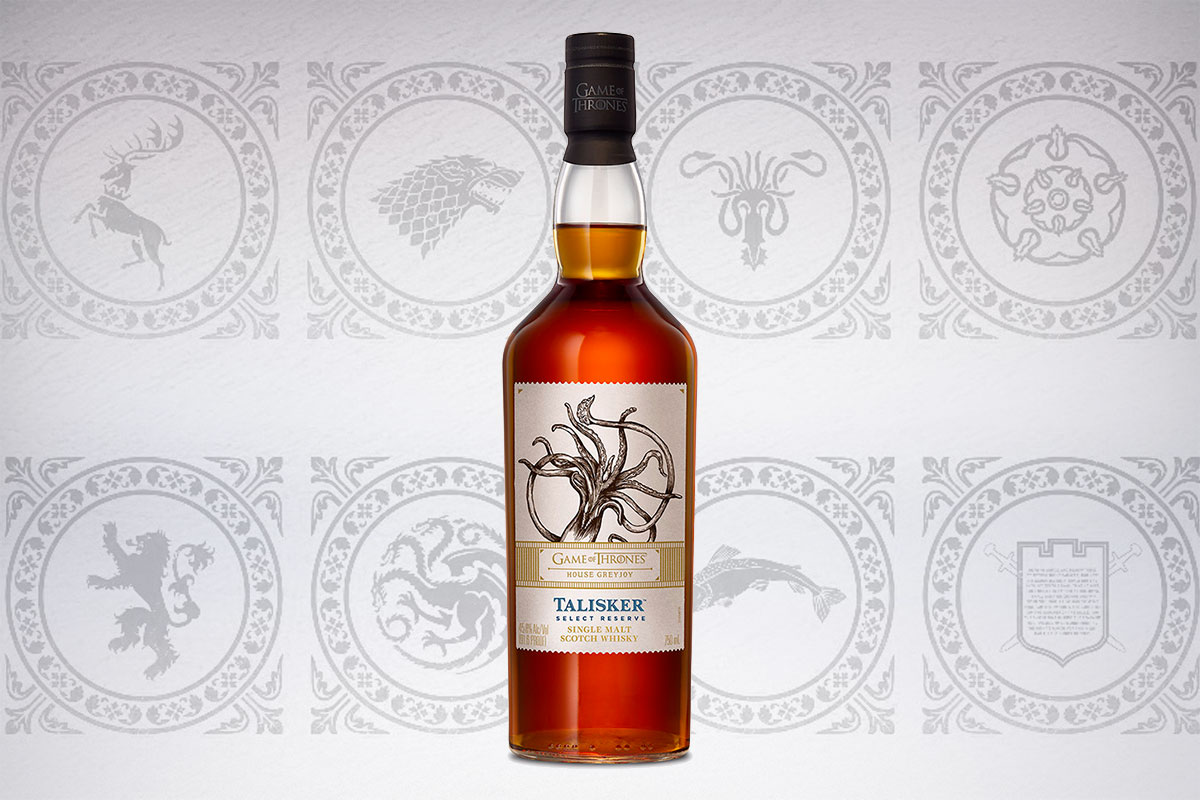Game of Thrones Scotch whiskies: Talisker Select Reserve