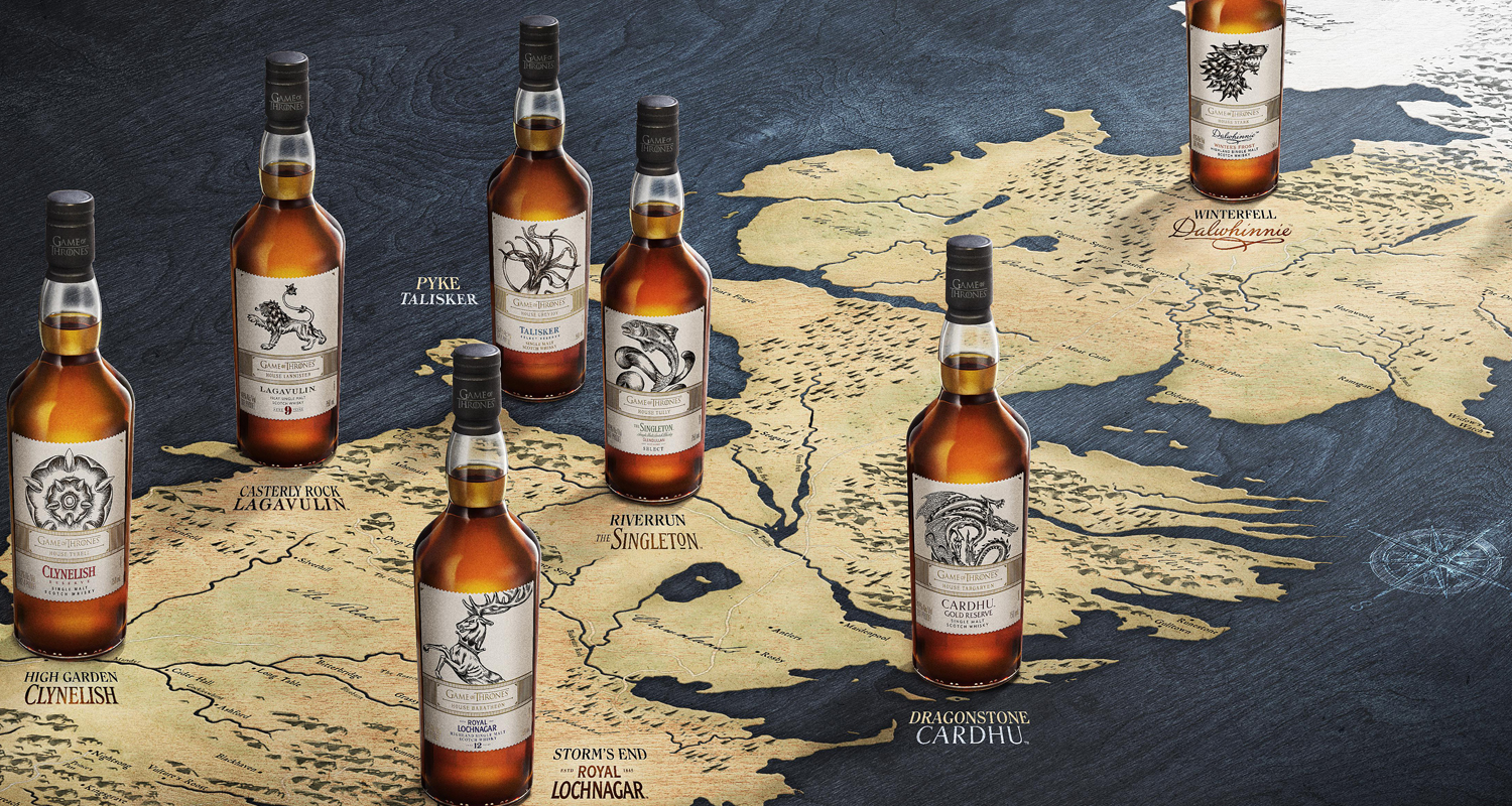 Game Of Thrones Scotch Whiskies Have Arrived