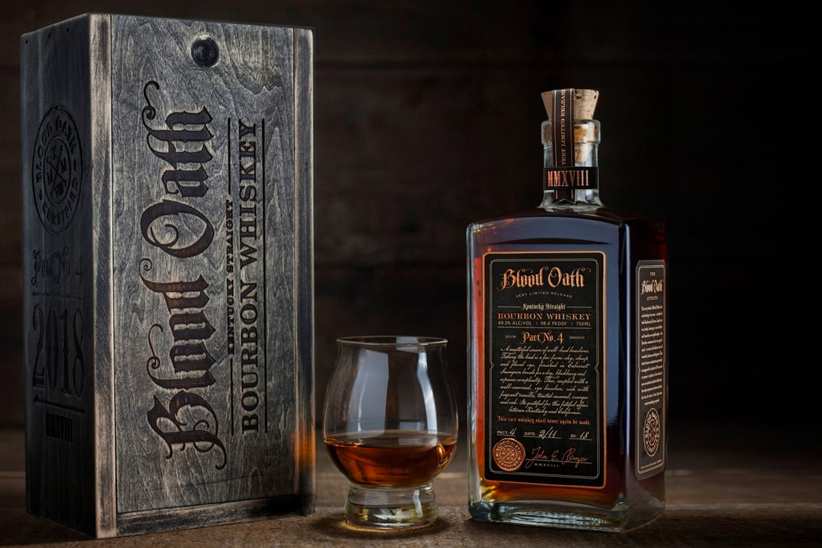 Halloween Booze: Blood Oath Bourbon Pact 4