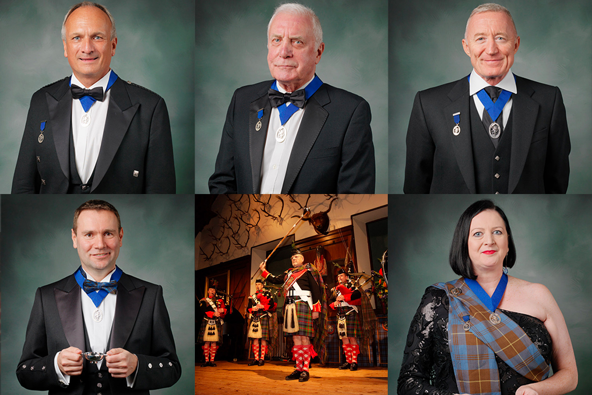 Keepers of the Quaich induction ceremony and new masters
