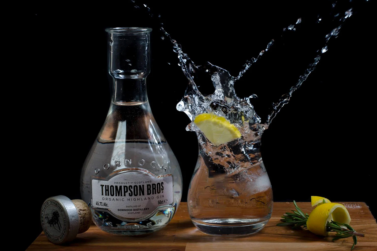 Dornoch Distillery: Thompson Bros Organic Highland Gin
