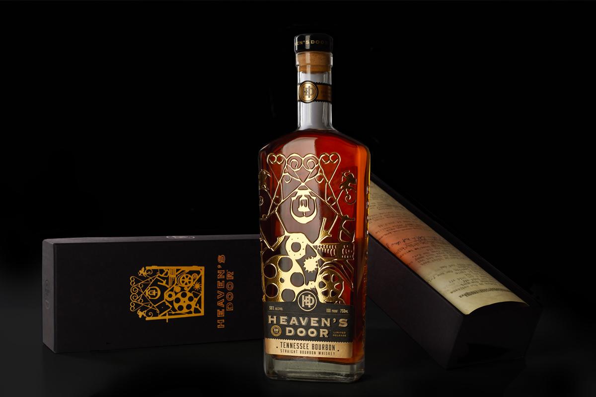 Heaven's Door 10 Year Tennessee Straight Bourbon