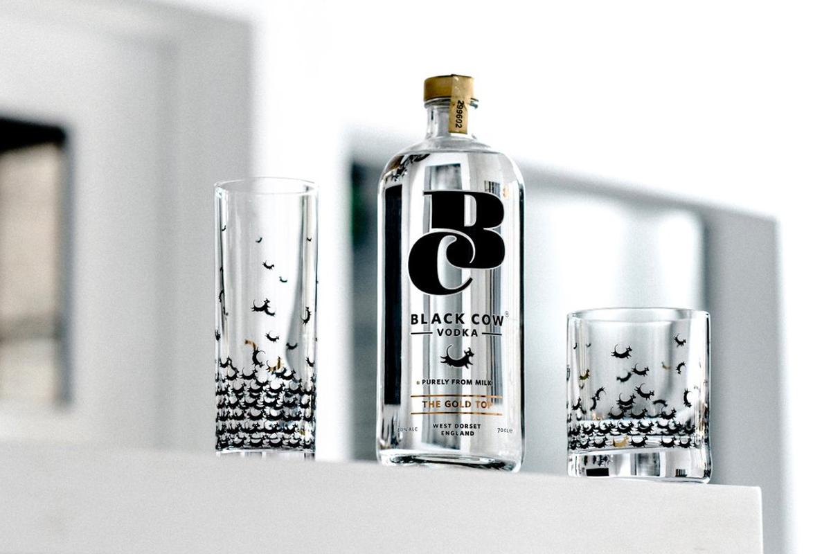 Latkes Vodkas: Black Cow Pure Milk Vodka