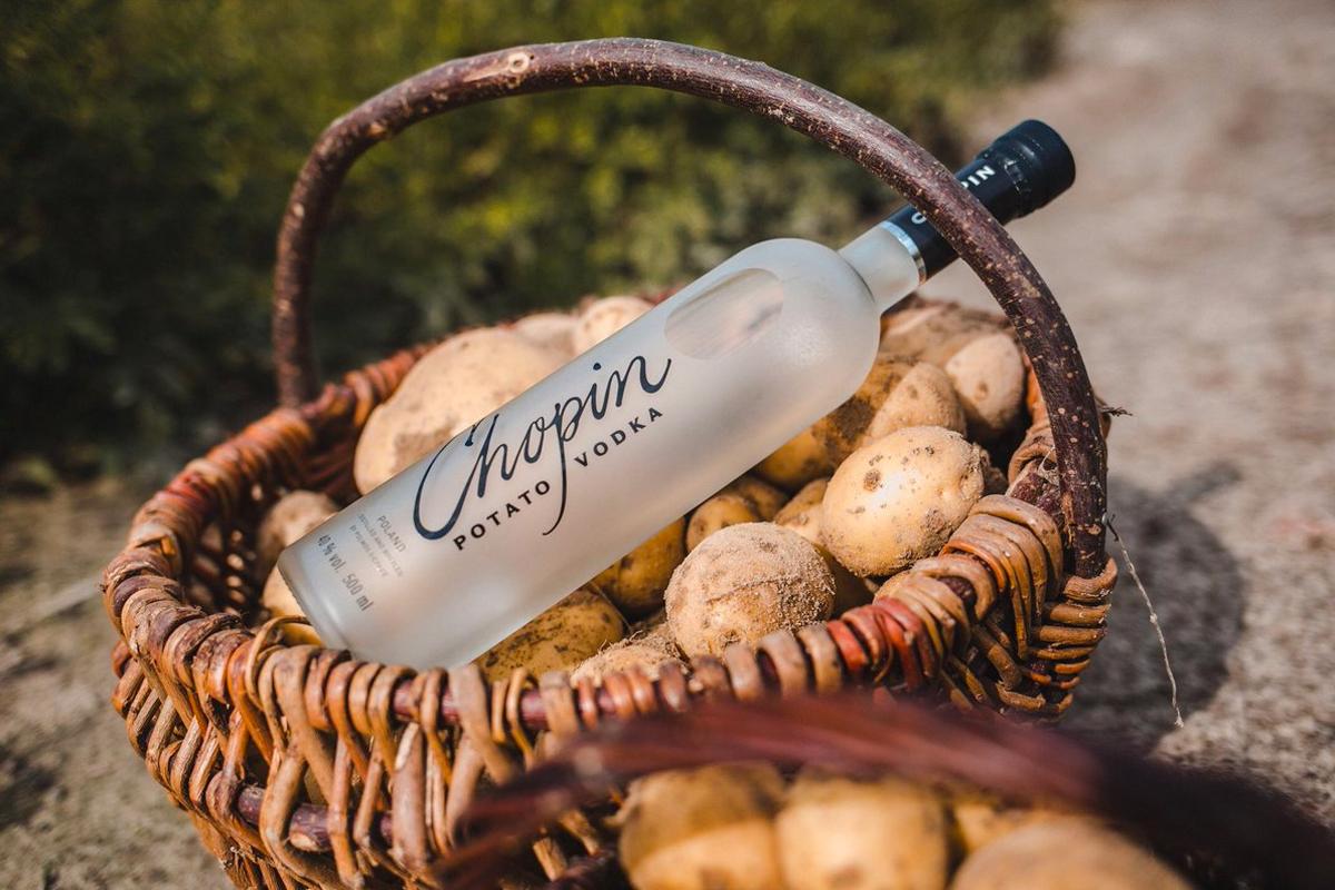 Latkes Vodkas: Chopin Potato Vodka