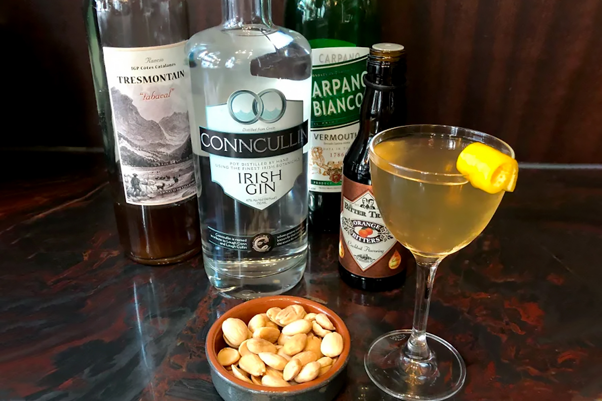 Gin and Vermouth Pairing: Conncullin Gin with Carpano Bianco Vermouth