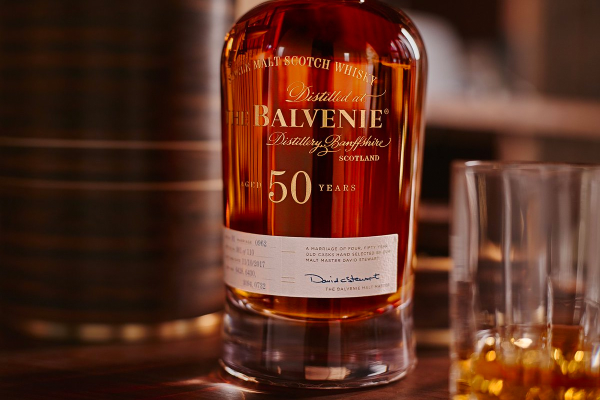 Expensive Scotch: The Balvenie 50: Marriage 0962