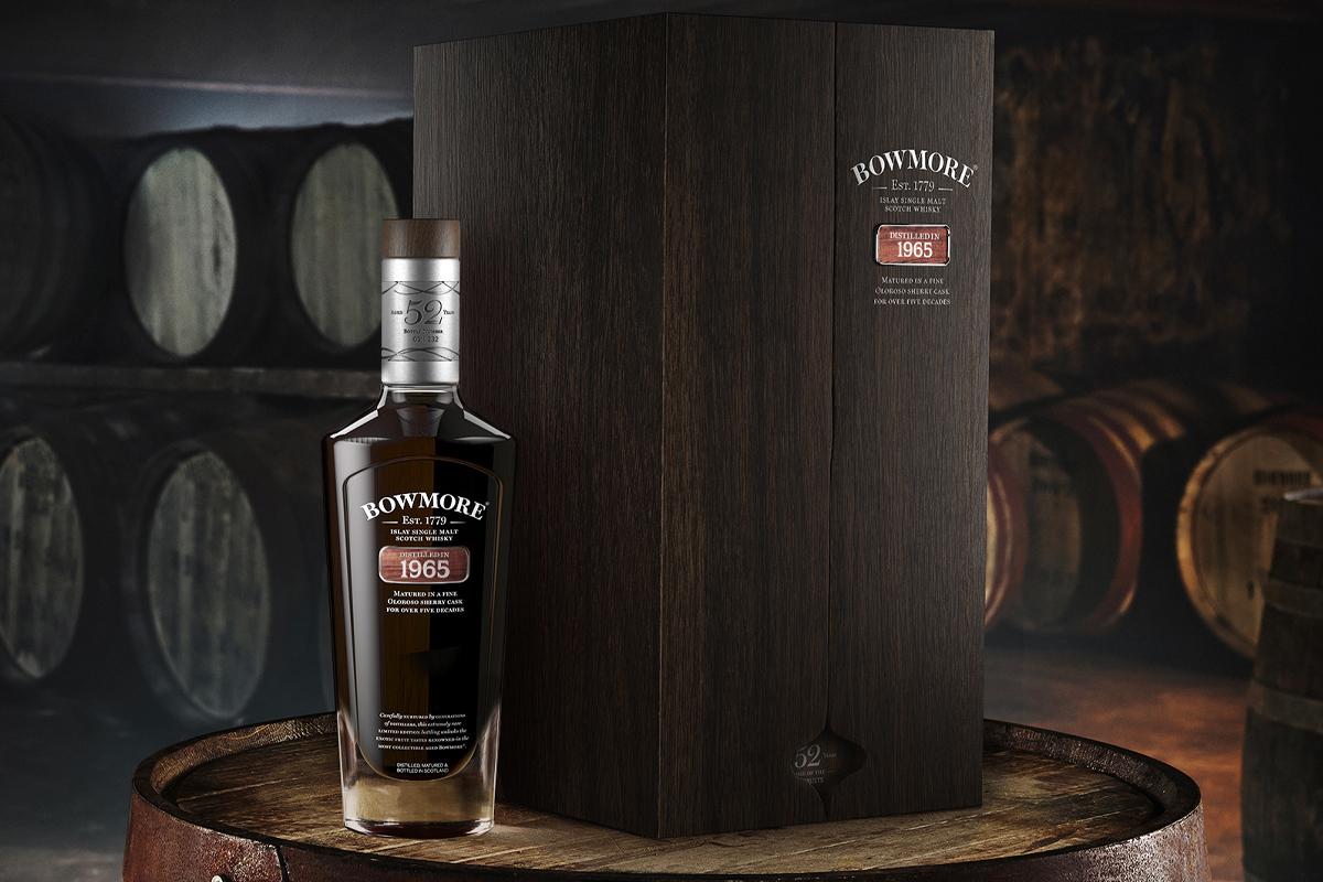 Expensive Scotch: Bowmore 1965