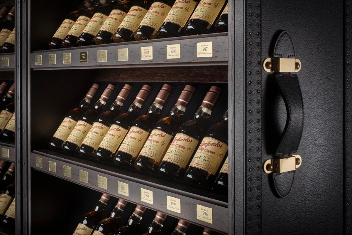 Expensive Scotch: Glenfarclas£100k Family Cask Trunk
