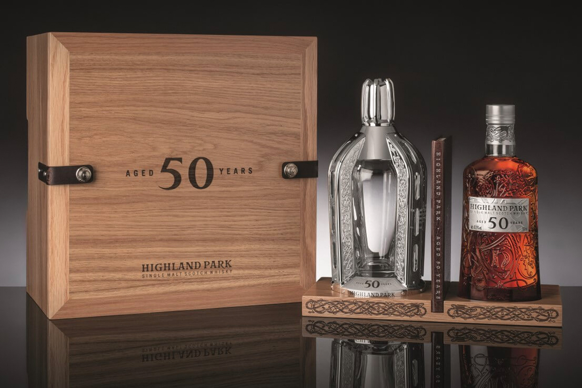 Expensive Scotch: Highland Park 50 Year (2018 Edition)