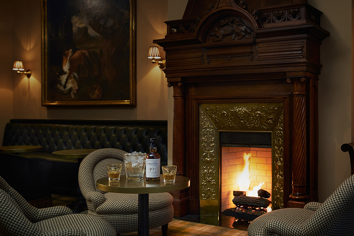 Destination Whiskey Bar: The Balvenie 40 by the fire