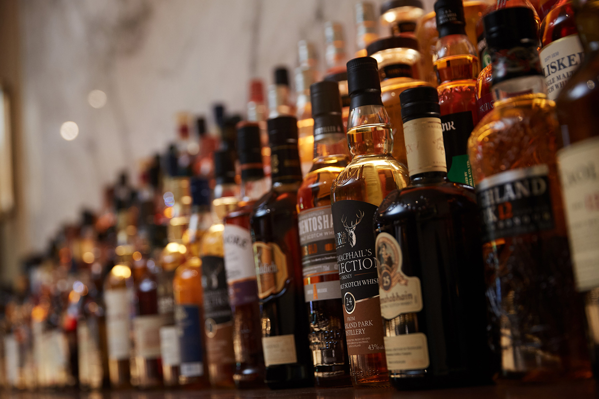 Destination Whiskey Bar: The Stewart whisky collection