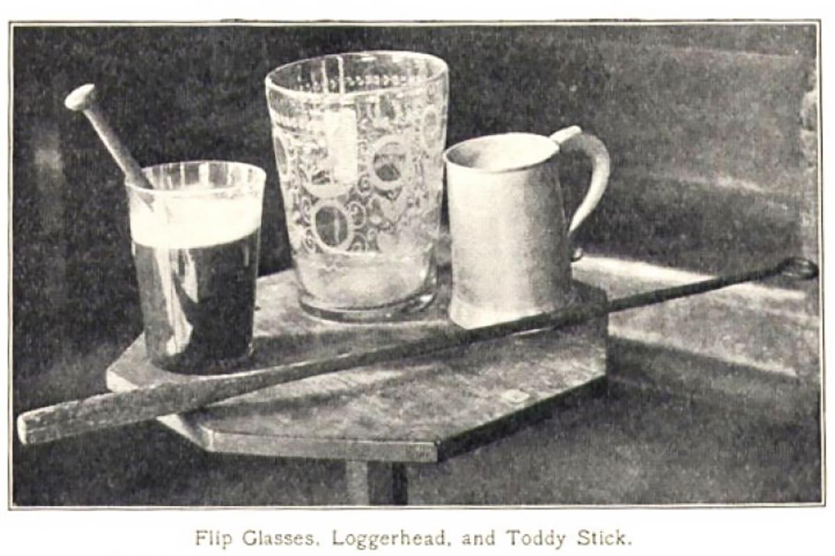 Beer Flips: Vintage loggerhead