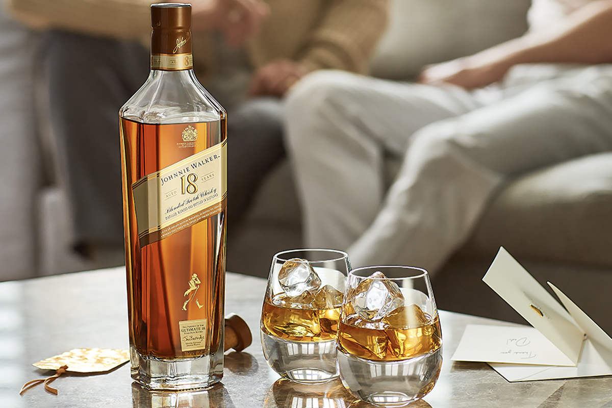 Burns Night Scotch: Johnnie Walker 18 Year