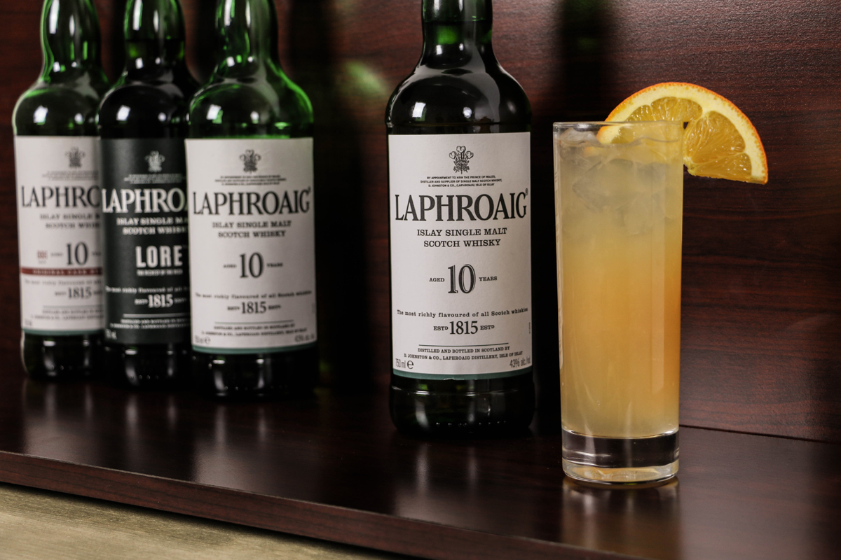 Burns Night Scotch: Ode to a Whisky [Sour] with Laphroaig 10
