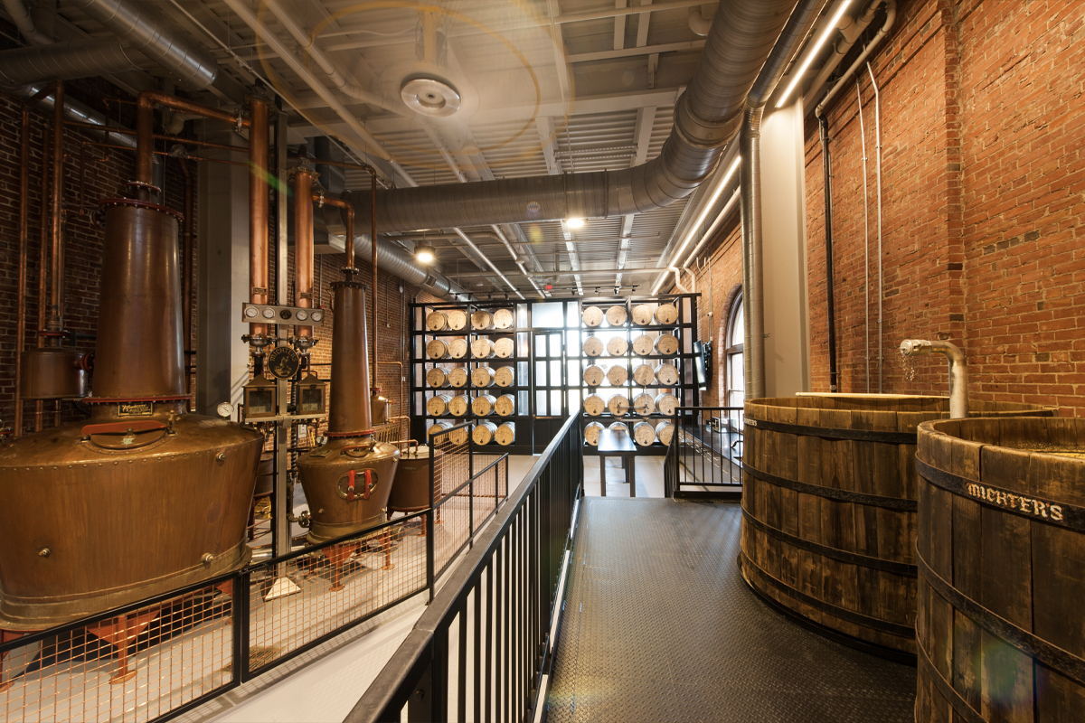 Inside Michter's Fort Nelson Distillery