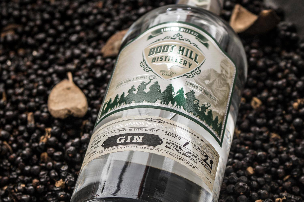 American Gins: Boot Hill Distillery Gin