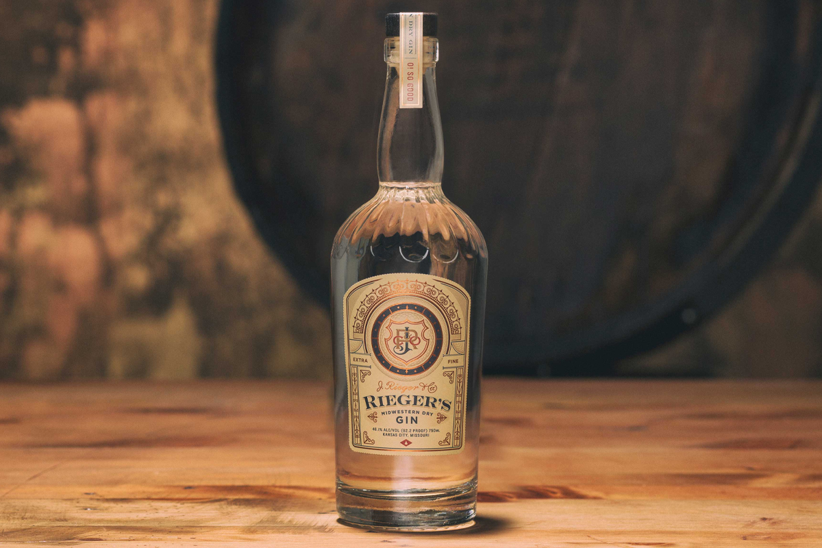 American Gins: Rieger Midwestern Dry Gin