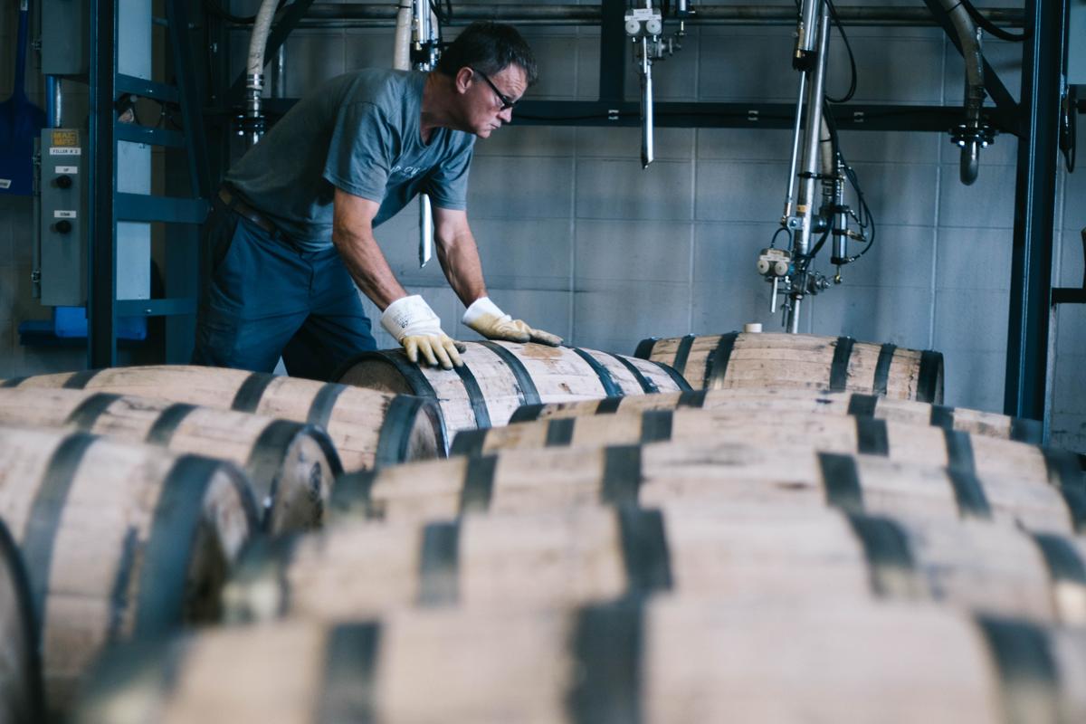 Bardstown Bourbon Company: Whiskey barrels