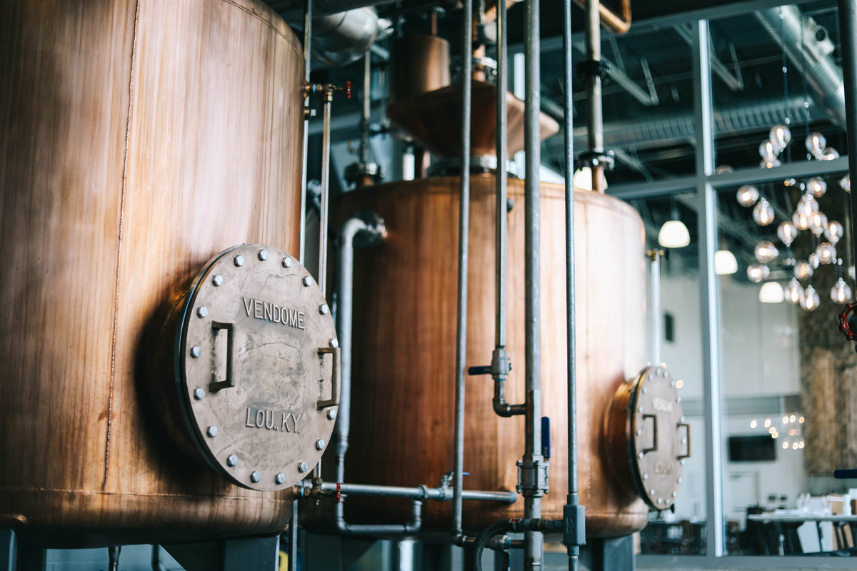 Bardstown Bourbon Company: The stills