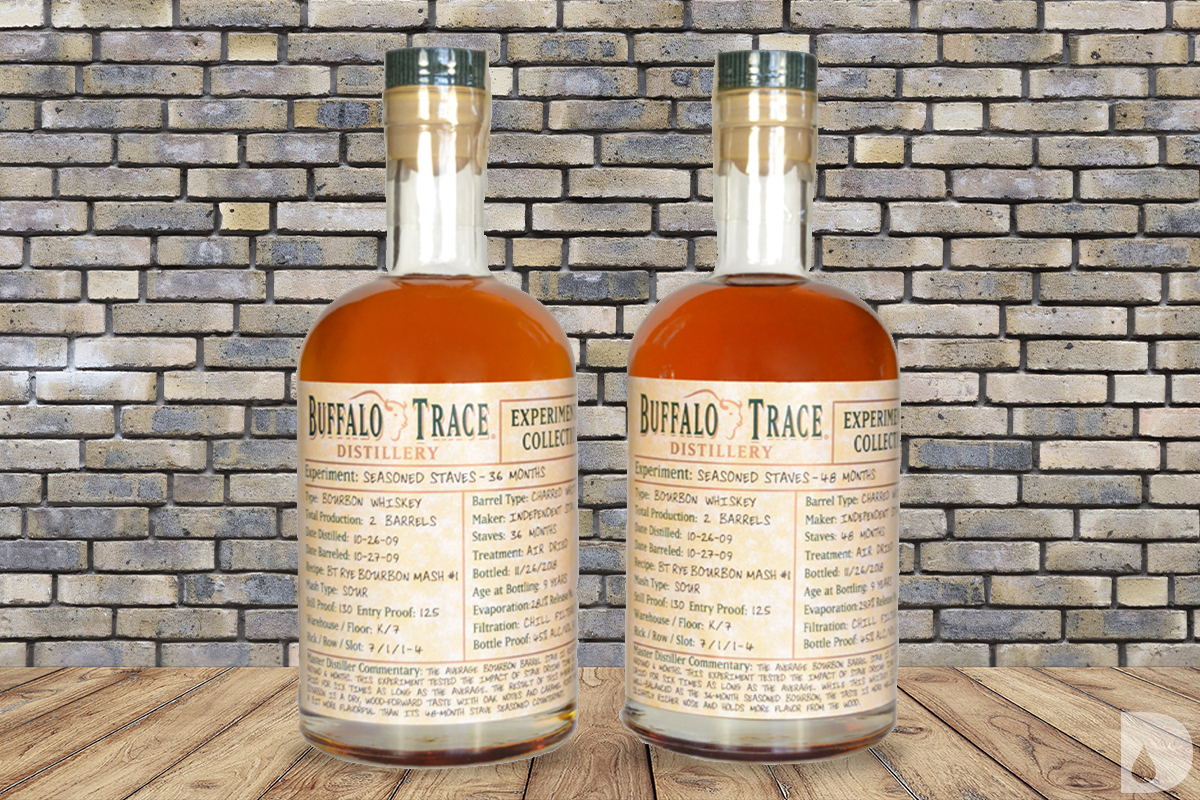 Buffalo Trace Experimental Collection Bourbons