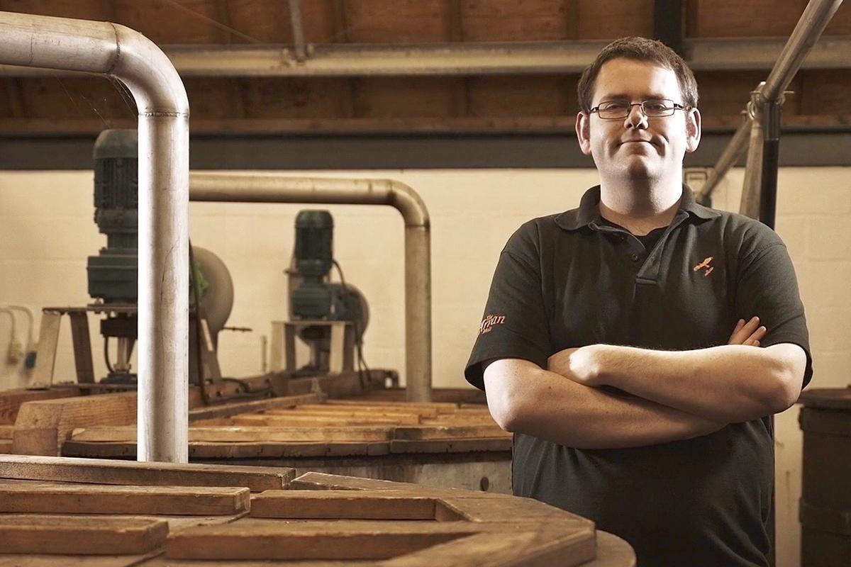 Lagg Distillery: Graham Omand