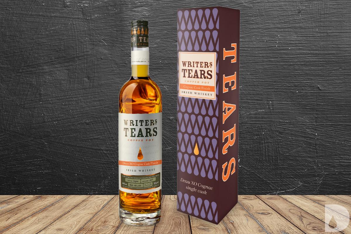 Writers' Tears Copper Pot Deau XO Cognac Cask Finish