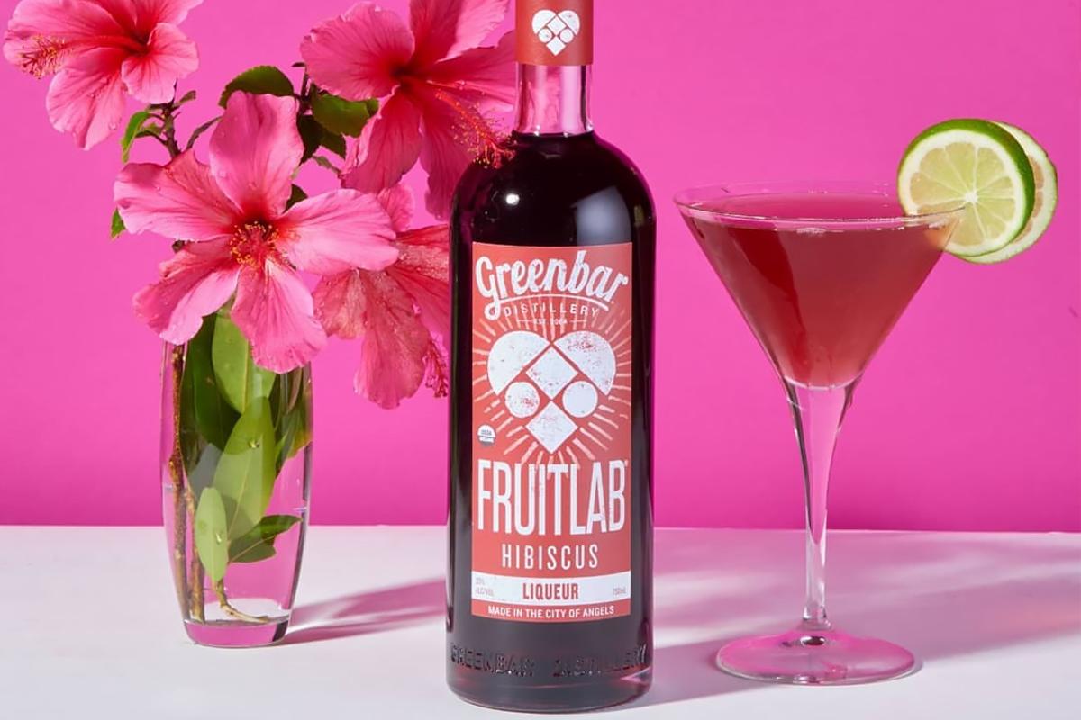 Tropical Liqueurs: Fruitlab Hibiscus Liqueur