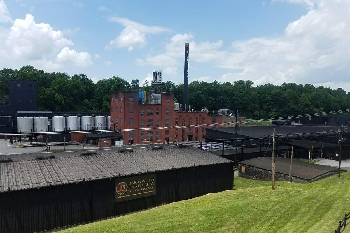 Barton 1792 Distillery Spill