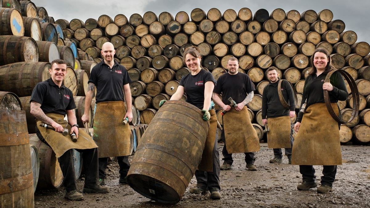 First Female Cooperage Apprentices