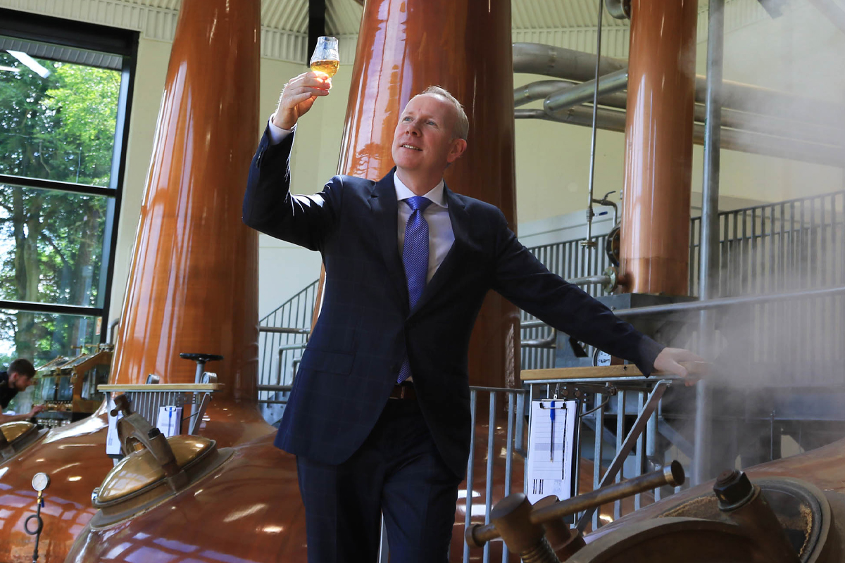 Single Pot Still: Walsh Whiskey founder Bernard Walsh