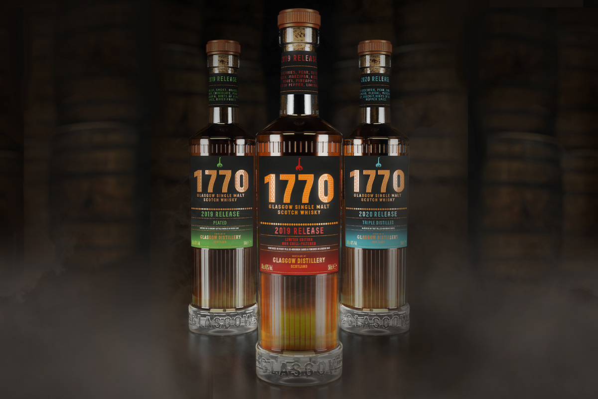 Glasgow Distillery's new signature releases