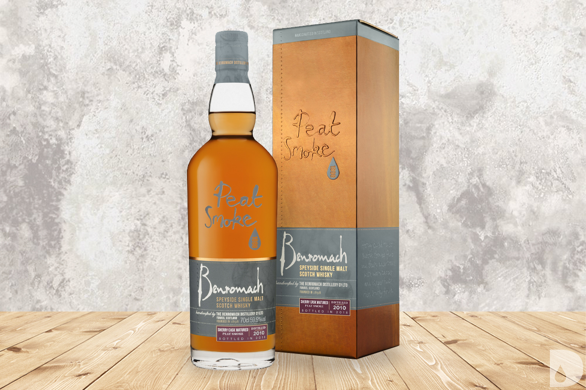 Benromach Peat Smoke Sherry Cask Matured 2010