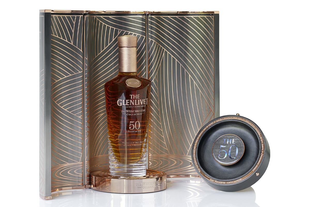 The Glenlivet 50 Year Winchester Collection 1967