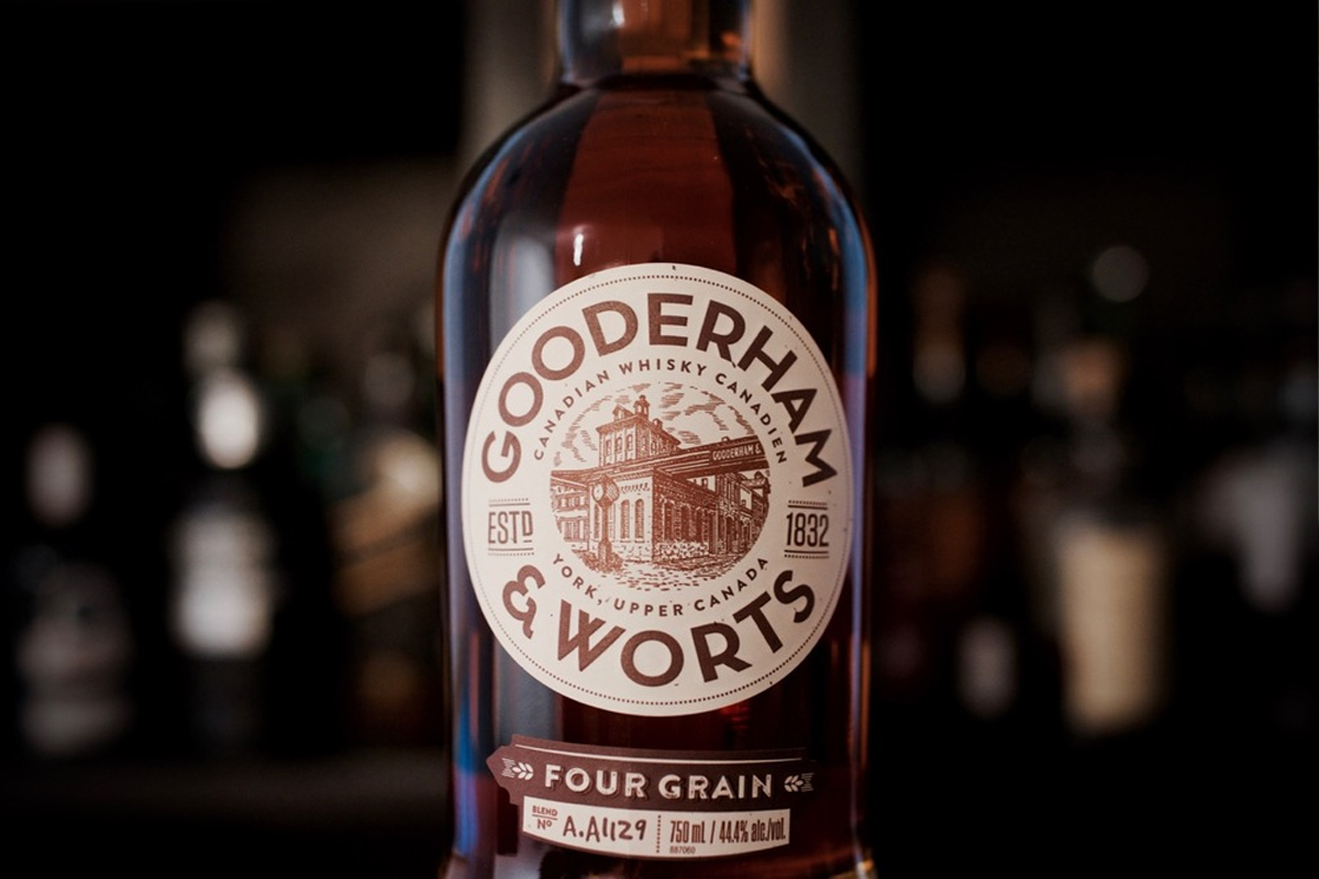 Gooderham & Worts Four Grain Canadian Whisky