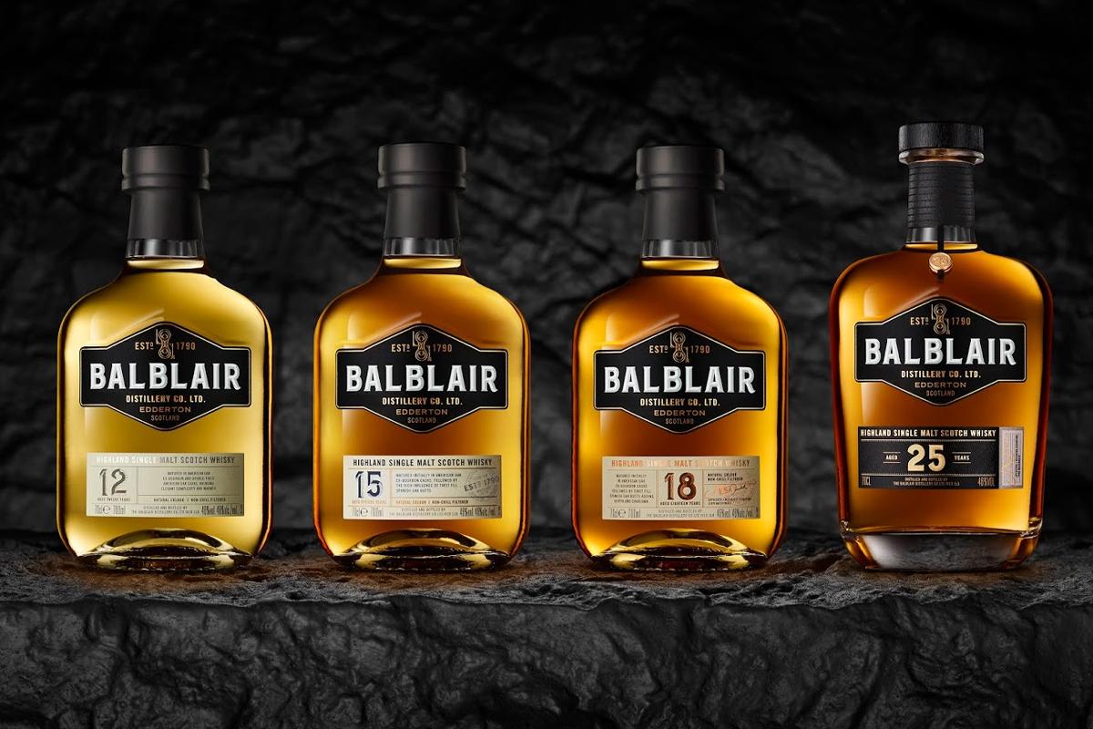 Balblair's new portfolio
