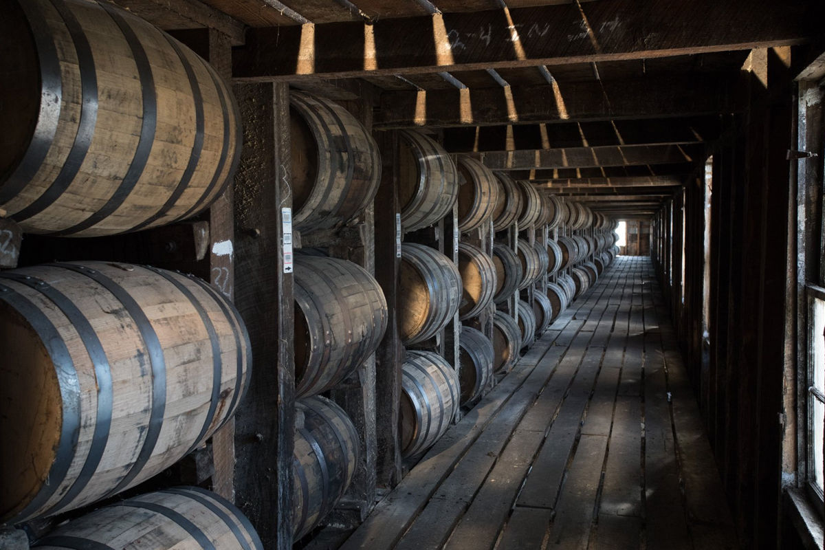 Conor O'Driscoll: A rickhouse at Heaven Hill