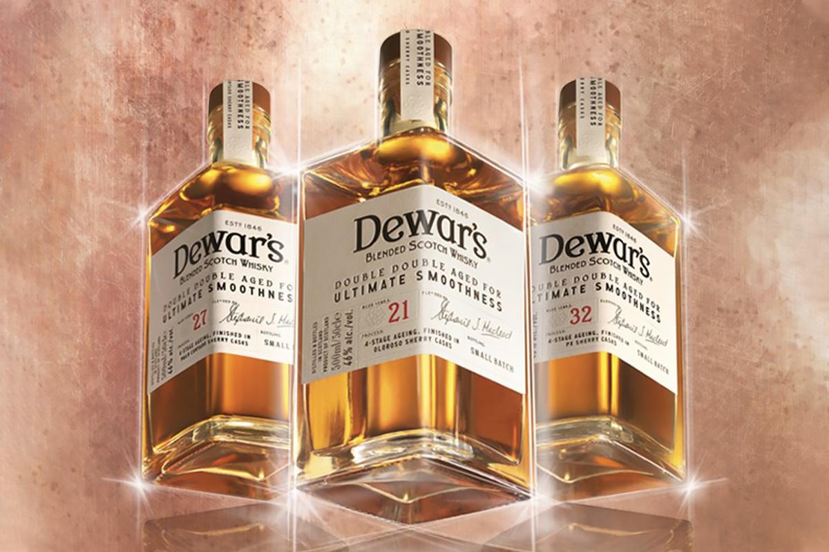 Dewar's Double Double Trio