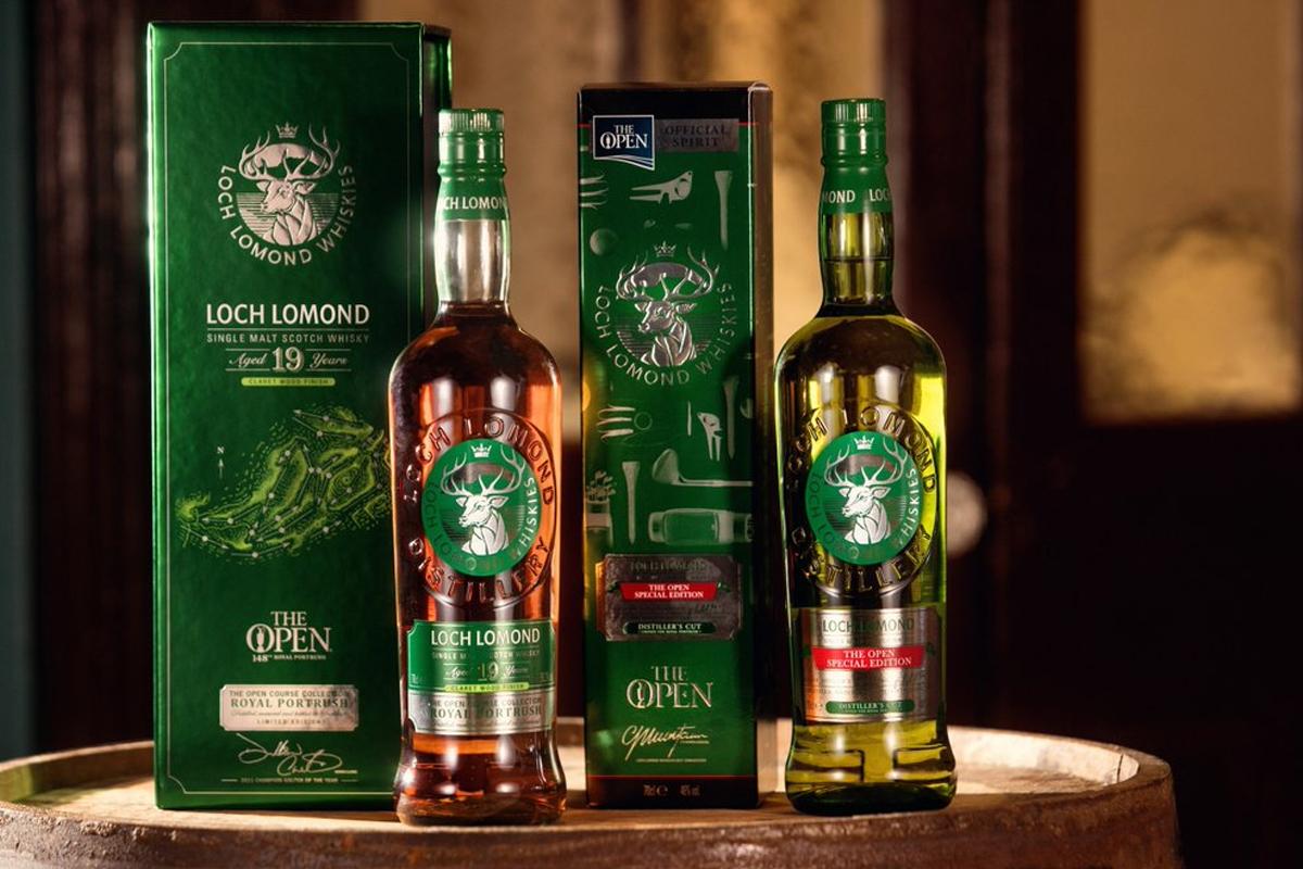 Loch Lomond Open Championship Whiskies