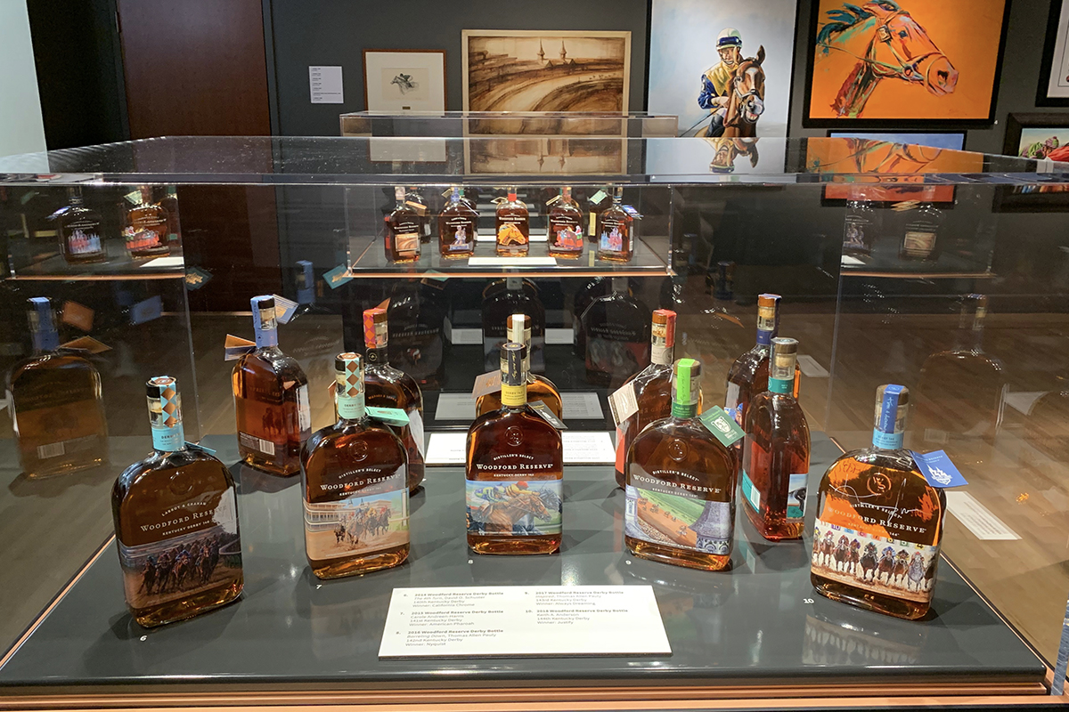Woodford Reserve Kentucky Derby: Woodford Reserve exhibit at the Frazier History Museum