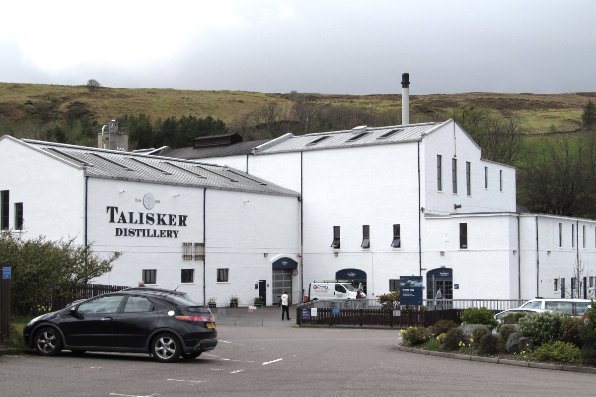 Scotch Islands: Talisker Distillery